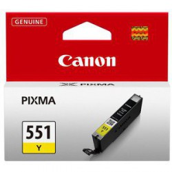 Črnilo Canon CLI-551 Y, yellow