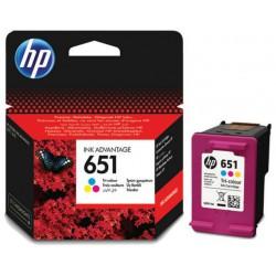 Črnilo HP C2P11AE (651), barvno