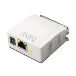 Print server 1x LPT, Digitus DN-13001-1, bel