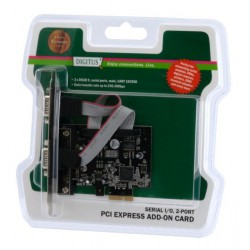 Kartica PCI Express Serijska Digitus DS-30000-1 + Low Profile