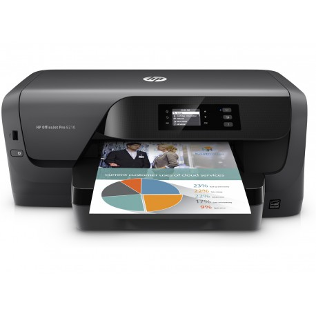Brizgalni tiskalnik  HP OfficeJet Pro 8210 (D9L63A)