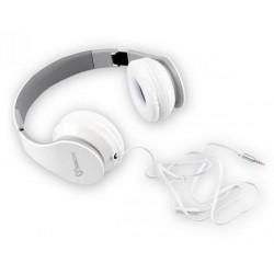 Slušalke z mikrofonom SBOX HS-501 bele