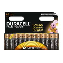 Alkalne baterije Duracell Plus Power MN1500B12 AA (12 kos)