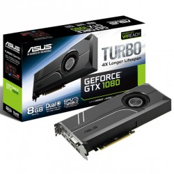 Grafična kartica GeForce GTX 1080 8GB Asus Turbo Aktiv PCIe