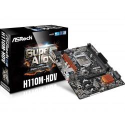 Matična plošča Asrock H110M-HDV 1151, DDR4