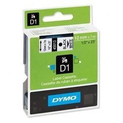 Trak DYMO D1 12mm x 7m bel, 450130