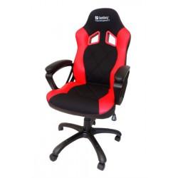 Gaming stol Sandberg Warrior Gaming Chair črno/rdeč