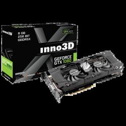 Grafična kartica GeForce GTX 1080 8GB HerculeZ Twin X2 Inno3D N1080-1SDN-P6DN