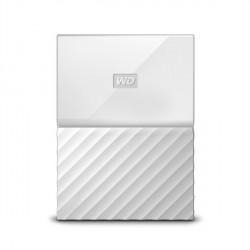 "Zunanji trdi disk 2.5"" 2TB USB 3.0 WD MY Passport, bel, WDBYFT0020BWT"