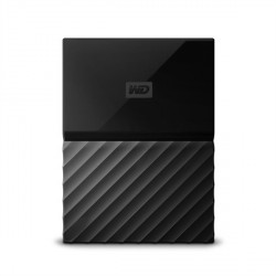 "Zunanji trdi disk 2.5"" 2TB USB 3.0 WD MY Passport, črn, WDBYFT0020BBK"