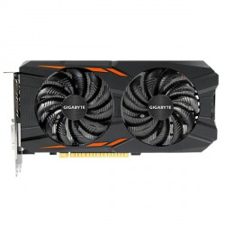 Grafična kartica GeForce GTX 1050 Ti OC, 4GB GIGABYTE GV-N105TWF2OC-4GD