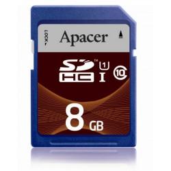 Spominska kartica SD 8GB UHS-I class 10 Apacer AP8GSDHC10U1-R