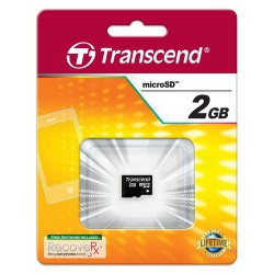 Spominska kartica microSD 2Gb Transcend TS2GUSDC