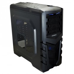 Ohišje ATX Antec Gamer GX505 Window, moder LED