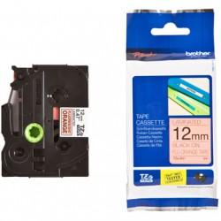Tze-B31, Brother trak za tiskalnik nalepk, oranžen/črn