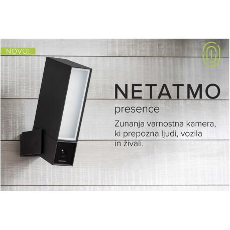 Pametna brezžična nadzorna kamera Netatmo Presence zunanja