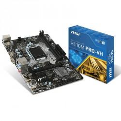 Matična plošča MSI H110M PRO-VH LGA1151 mATX DDR4