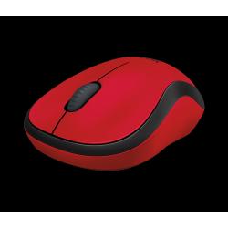 Miška brezžična optična Logitech M220 silent, rdeča
