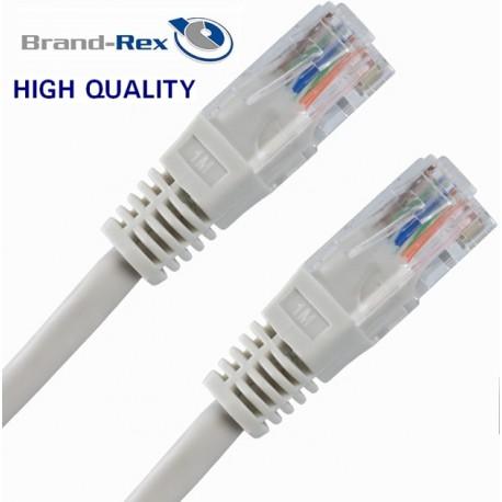 Priključni kabel za mrežo Cat5e UTP 1.5m siv