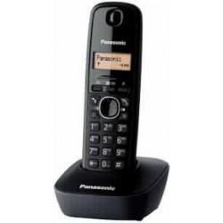 Brezžični telefon Panasonic DECT KX-TG1611FXH, črn