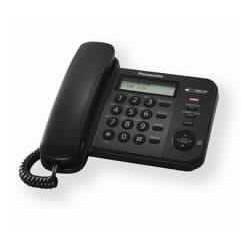 Stacionarni telefon Panasonic KX-TS560FXB črn