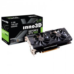 Grafična kartica GeForce GTX 1060 3GB INNO3D X2