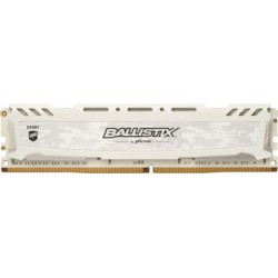 Pomnilnik DDR4 4GB 2666MHz CRUCIAL Ballistix Sport LT, bel, BLS4G4D26BFSC