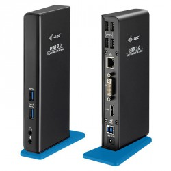 I-TEC USB 3.0 HDMI DVI Gigabit Dual Docking Station
