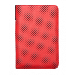 Ovitek PocketBook Dots rdeč/siv 6, za model Basic2, TouchLux3