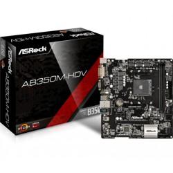 Matična plošča ASRock AB350M-HDV, DDR4,  AM4, mATX