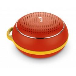 Prenosni bluetooth zvočnik Genius SP-906BT, rdeč