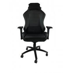 Gaming stol UVI CHAIR ELEGANT, črn