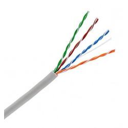 Mrežni kabel Cat5e FTP, trd, oklopljen 4x2