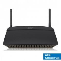 Usmerjevalnik (router) brezžični Linksys EA6100, AC1200 + 16GB USB ključek