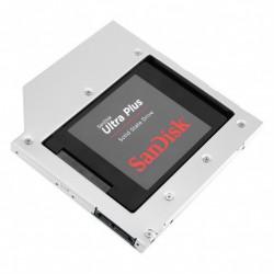 Adapter za SSD/HDD v 9,5mm DVD režo, SATA3, Alu, Orico