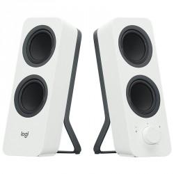 Zvočnik 2.0 bluetooth 10W Logitech Z207, bel