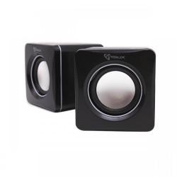 Zvočniki 2.0 SBOX SP-02 prenosni črni