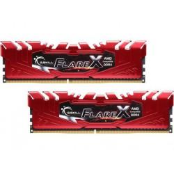 Pomnilnik DDR4 16GB (2x8GB) 2400 G.SKILL Flare X RED, F4-2400C16D-16GFXR