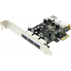 Kartica PCI Express USB 3.0 U-750 STLab 3xA + 1xA