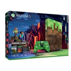 Igralna konzola Microsoft Xbox One S 1TB Minecraft Limited Edition Bundle