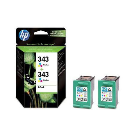 Črnilo HP CB332EE (2x343) barvno