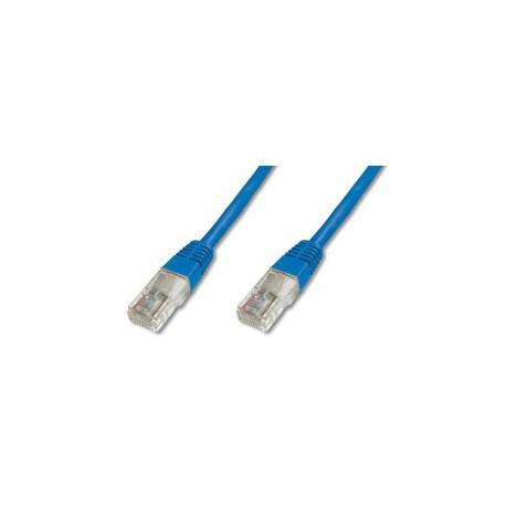 Priključni kabel za mrežo Cat5e UTP 1.5m moder
