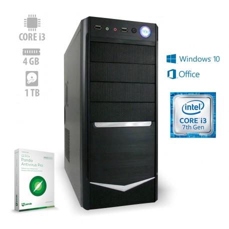 Osebni računalnik ANNI HOME Optimal / i3-7100 / W10H / Office 365 / CX3