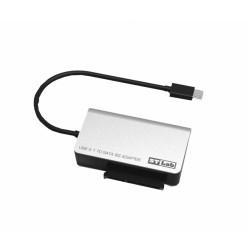 Čitalec diskov USB 3.1 tip-C SATA, STLab U-1160